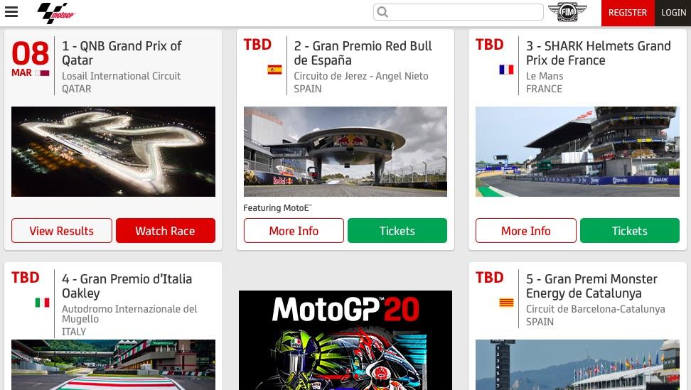 "2020 motogp スケジュール 【MotoGP】カル・クラッチロー「""サプライズ勝者""の誕生は2021年も続く!」願うは友人ミラーの勝利(documents.openideo.com 日本版)"